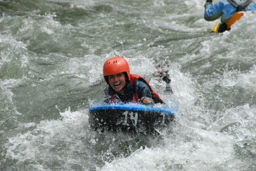 Rafting und Canyoning Wochenende in Imst